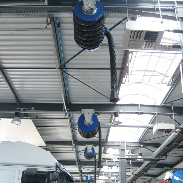 Exhaust Extraction on Beams