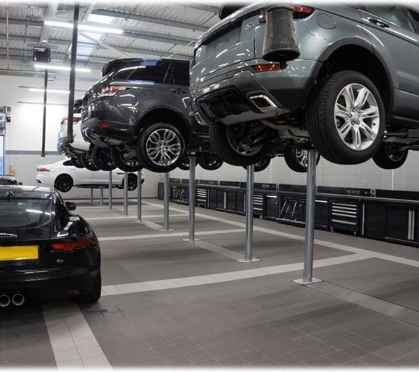 Jaguar Land Rover In Ground Lifts