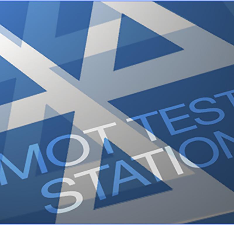 MOT testing logo